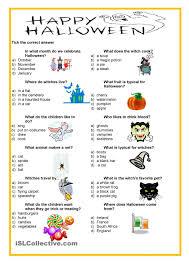 happy halloween quiz english activities pinterest