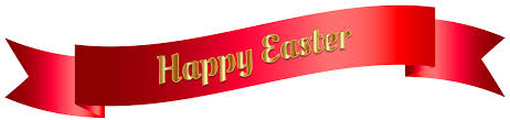 red happy easter banner png clip art image gallery yopriceville