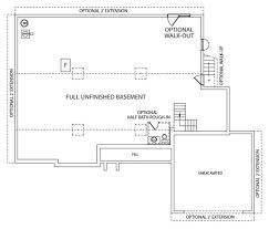 foundation floor plan eisenhower j a myers homes
