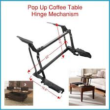 lift up coffee table mechanism with spring assist spring assist pop up coffee table mechanism convert your coffee