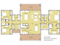 100 split floor plan house plans lodge style house plans