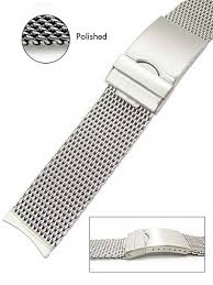 bracelet mesh images Vollmer polished mesh bracelet 99460h4 curved end 20mm jpg