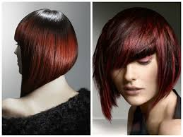 short red ombre hair hairstyle for women u0026 man
