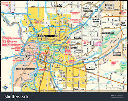 Map Of Sacramento Map Of California Sacramento Area You Can See A Map Of Many