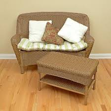 Wicker Settee Replacement Cushions Wicker Loveseat Cushions Cheap Replacement Target 22301 Interior