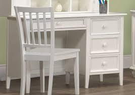 Small White Writing Desk 2 Pc White Black Walnut Cherry Big Drawer Storage Shelf Student