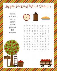 5 best images of fun fall word search printable free printable