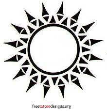 Tattoos Designs - best 25 tribal sun tattoos ideas on tribal sun sun