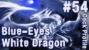blue eyes white dragon deck april 2014 yu gi oh ygopro 54 youtube