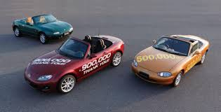 mazda roadster 1998 mazda mx 5 roadster review 900 000 vehicles sold later