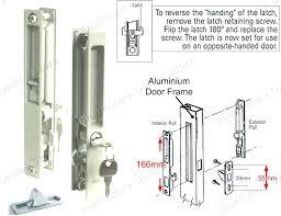 Patio Door Lock Parts Sliding Door Locks Replacement Parts Rite Mortise Lock Slot