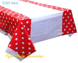 plastic table covers for weddings 108 180cm apple green polka dots disposable plastic tablecloths