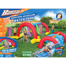 water slide inflatable water park inflatable games backyard
