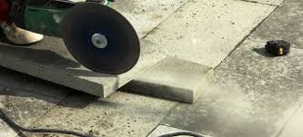 Cutting Patio Pavers How To Cut Concrete Pavers Doityourself