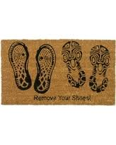 Wipe Your Paws Footprint Doormat Find The Best Deals On Clever Doormats Funny And Functional