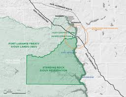 Standing Rock Reservation Map Charles Newman Mdes R U0026r 2018 Elias Logan March Ii 2018 The