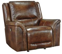 Leather Rocker Recliner Jayron Harness Power Reclining Sectional From Ashley U76600 47 96