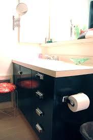 Green Bathroom Vanities Painting Laminate Bathroom Cabinets Little Green Notebook