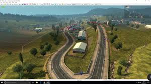 Italy Road Map by Ets2 Map Editor Behind The Mod