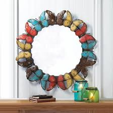 Koehler Home Decor Colorful Butterfly Wall Mirror Wholesale At Koehler Home Decor