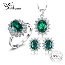 emerald jewelry rings images Stunning russian emerald jewellery set necklace earrings and jpg