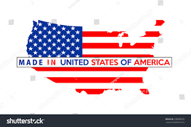 Usa Country Map by Made Usa Country National Flag Map Stock Illustration 239806633