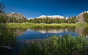 beautiful mountain lake full hd nature background wallpaper