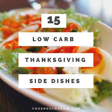 low carb thanksgiving side dishes you should grow
