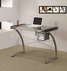 Mainstays Glass Top Desk by Home Office Computer Furniture Desks And Tables