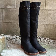 dan post s boots sale dan post s misstaken 18 black leather w studs boots