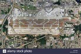 Seattle International Airport Map by Aerial Map View Above Boeing Field King County International