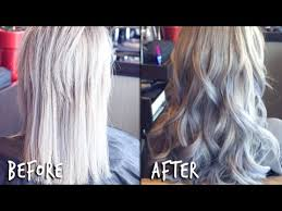 salt and pepper tape in hair extentions tape in hair extensions hair transformation youtube