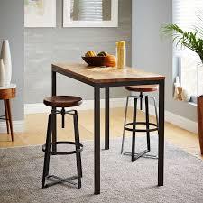 Mango Wood Bar Stools Box Frame Counter Table U2013 Wood West Elm