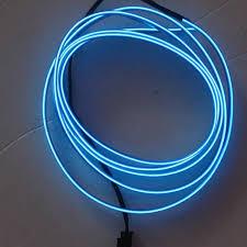 12v Led Light String by Car Interior El Cold Light Strip 12v Led Glow Wire String