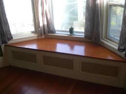 bay window bench kitchen decor window ideas