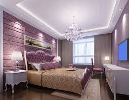 Suspended Bed by White Suspended Ceiling And Purple Bed Background Wall Jpg 1021