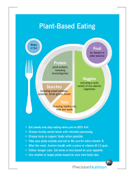 plant based eating guidelines by precision nutrition nutrition