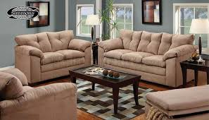 Tan Sofa Set by Tan Micro Suede Contemporary Sofa U0026 Loveseat Set