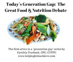 cuisine gap today s generation gap the great food nutrition debate helping