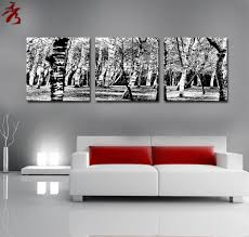 home modern black and white paintings for living room elegant cheap chinese