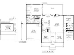 1 story home floor plans 2500 to 4000 sq ft taron design inc log home plans 1 story house