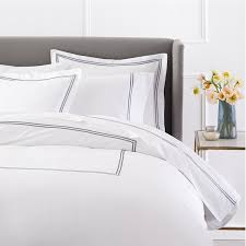 transform duvet cover with additional pinzon 400 thread count egyptian cotton sateen hotel