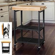 folding kitchen island cart origami folding kitchen island cart amazing qvc with wheels foldable