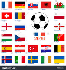 French And Dutch Flag All Flags National Teams France Soccer Stock Vector 411774901
