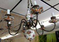 Italian Porcelain Chandelier Porcelain Chandelier Ebay