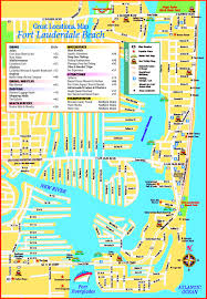 Map Of Fort Lauderdale Florida by Fort Lauderdale Maps Florida U S Maps Of Fort Lauderdale