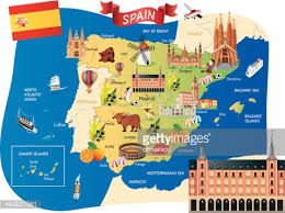 map of spain map of spain vector getty images