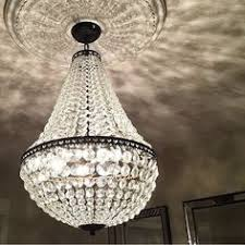 Potterybarn Chandelier I Can See Something Glamourous Like This In The Stairwell Or In