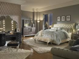 aico hollywood swank vanity amazon com hollywood swank queen pearl leather bedroom set by