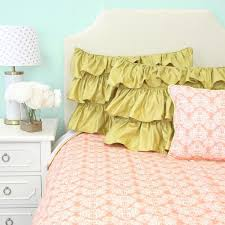 chloe u0027s coral damask baby bedding caden lane